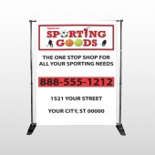 Sporting Goods 528 Pocket Banner Stand