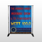 AMP Morning Show 439 Pocket Banner Stand
