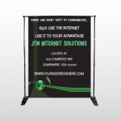 World Of Numbers 436 Pocket Banner Stand