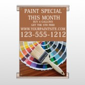 Paint Brushes 256 Track Banner