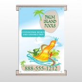 Palm Island Pool 534 Track Banner