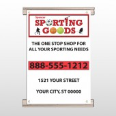 Sporting Goods 528 Track Banner
