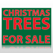 Christmas Trees For Sale Sign Panel