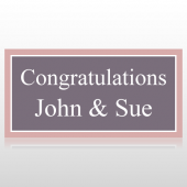 Congratulations Wedding Banner