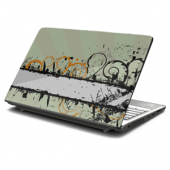 Curly Qs Laptop Skin
