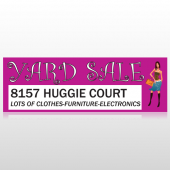 Pink Girl Sale 552 Custom Decal