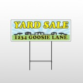 Neighbor Sale 549 Wire Frame Sign