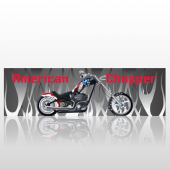 American Chopper 393 Back Window