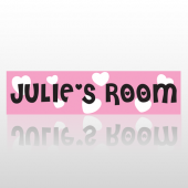 Girls Room Street Sign