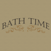 Bath Time 254 Wall Lettering