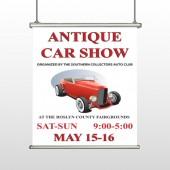 Car Show 123 Hanging Banner
