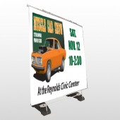 Muscle Car 124 Exterior Pocket Banner Stand