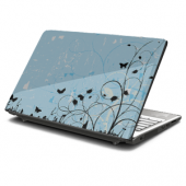 Fluffy Springtime Laptop Skin