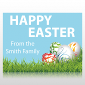 Happy Easter From The Smith Family Sign Panel