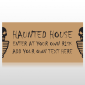 Haunted House Enter If You Dare Banner