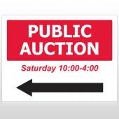 Auction 61 Custom Sign