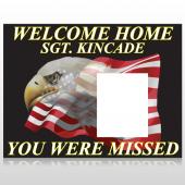 Eagle Flag 307 Custom Decal