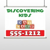 Toy Blocks 183 Hanging Banner