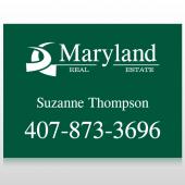 Maryland 6 Custom Sign