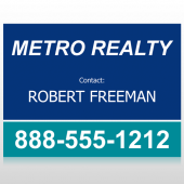 Metro 36 Custom Sign