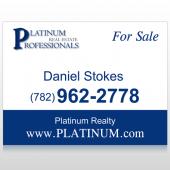 Platinum 7 Custom Sign