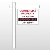 "Commercial 58 18""H x 24""W Swing Arm Sign"