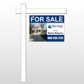 """For Sale 39 18""""H x 24""""W Swing Arm Sign"""