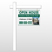 "Open House 32 18""H x 24""W Swing Arm Sign"