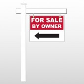 "Sale By Owner 33 18""H x 24""W Swing Arm Sign"