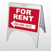 For Rent 43 A Frame Sign