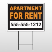 For Rent 45 Wire Frame Sign