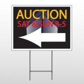 Auction Corner 650 Wire Frame Sign