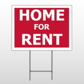 For Rent 47 Wire Frame Sign
