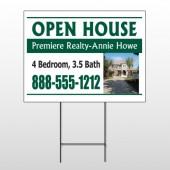 Open House 32 Wire Frame Sign