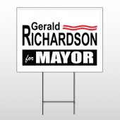 Political 62 Wire Frame Sign