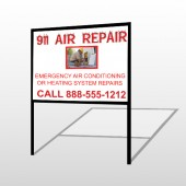 AC Repair 251 H-Frame Sign