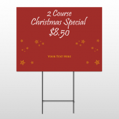 Christmas 19 Wire Frame Sign
