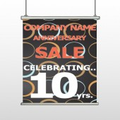 Anniversary Sale 14 Hanging Banner