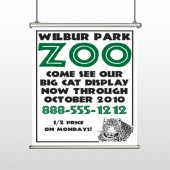 Zoo 127 Hanging Banner