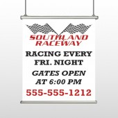 Racetrack 31 Hanging Banner
