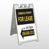 For Lease 42 A Frame Sign