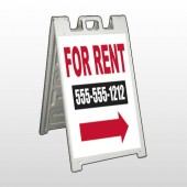 For Rent 46 A Frame Sign