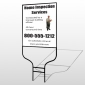 Inspection 360 Round Rod Sign