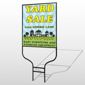 Neighbor Sale 549 Round Rod Sign