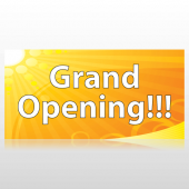 Sunny Grand Opening Banner