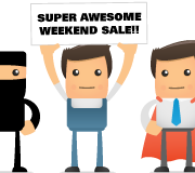 Super Awesome Weekend Sale (ends 07/31/11)