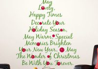 A great way to display your favorite famous or funny Christmas quote.