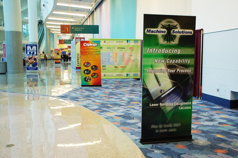Preparing Your Trade Show Banner