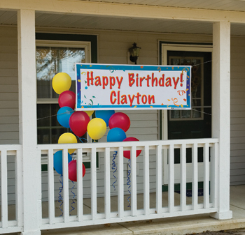 Custom Birthday Banners
