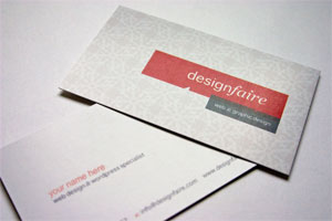 75% Business Cards with coupon code DOTW